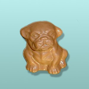 3D Chocolate Small English Bulldog