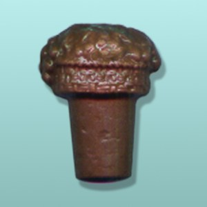 2 pc. Chocolate Wine Bottle Cork Favor