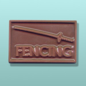 CHOCOLATE FENCING PARTY FAVORS