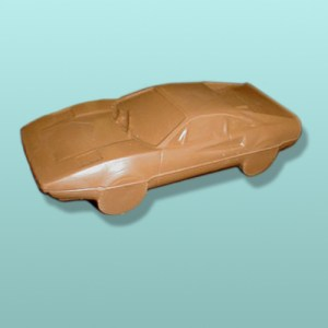 3D Chocolate Sports Car III