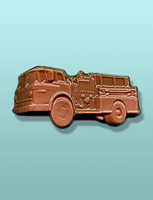 Chocolate Fire Truck Favor