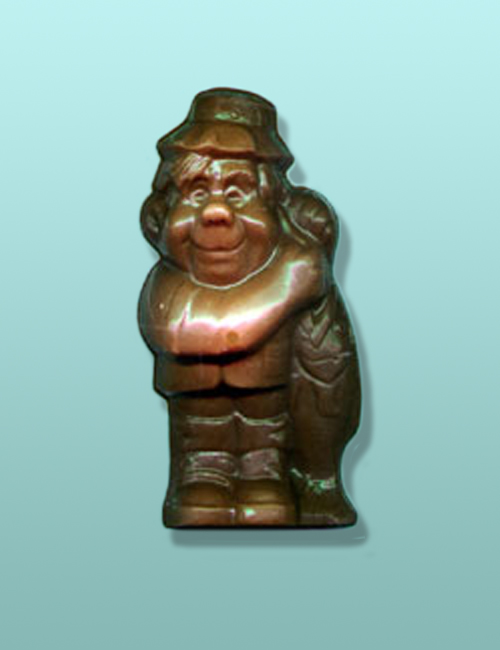 3D Chocolate Happy Fisherman