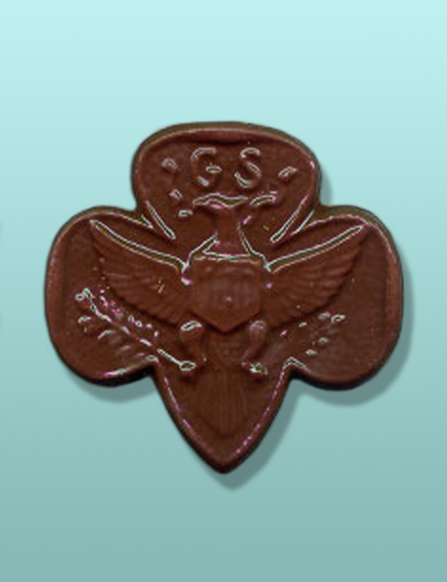 Chocolate Girl Scout Emblem I