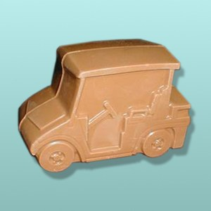 3D Solid Chocolate Golf Cart