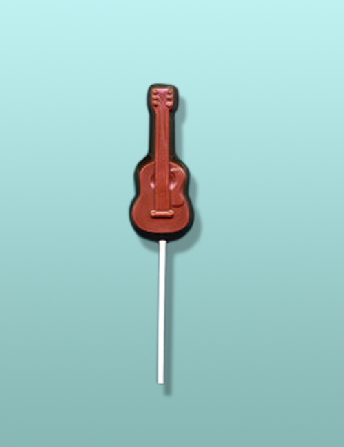 Chocolate Acoustic Guitar Lolly