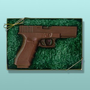 Chocolate Firearm Gun Gift Set