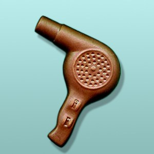 Chocolate Hair Dryer Party Favor