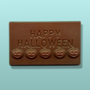 Chocolate Happy Halloween Mini Card