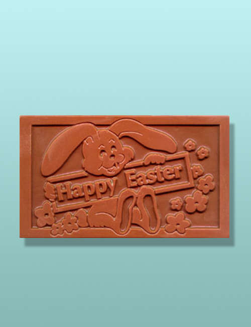 Chocolate Happy Easter Plaque