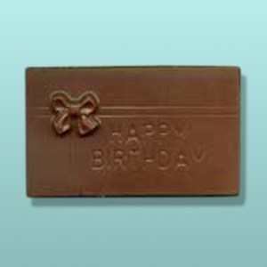 Chocolate Happy Birthday Mini Card I