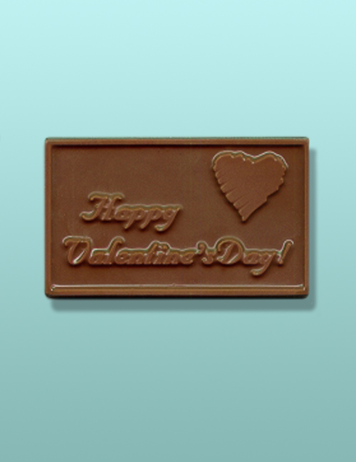Chocolate Happy Valentines Day Card II