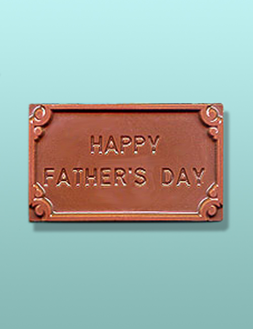 Chocolate Happy Fathers Day Favor