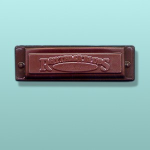 Chocolate Harmonica Favor
