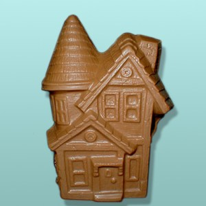 Chocolate Haunted House Centerpiece