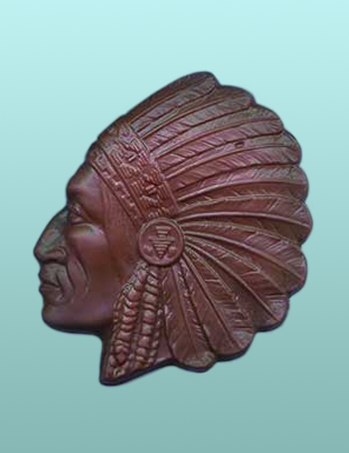 Chocolate Indian Chief Headdress