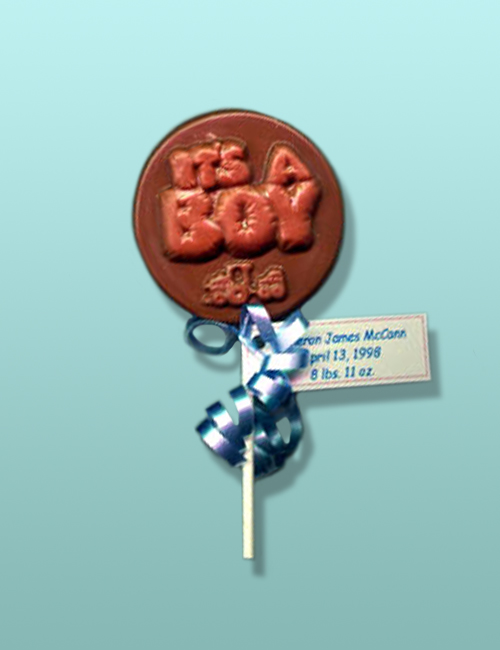 """Chocolate """"It's A Boy"""" Party Favor"""