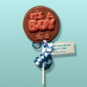 "Chocolate ""It's A Boy"" Party Favor"