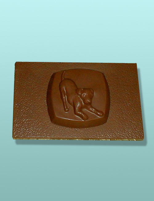 Chocolate Jack Russell Terrier Dog Flat Plaque