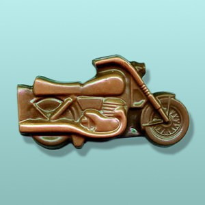 Chocolate Motorcycle Bike Large