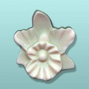 Chocolate Orchid Flower Large Favor