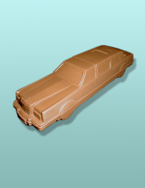 3D Chocolate Stretch Limousine