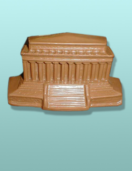 Chocolate Lincoln Memorial