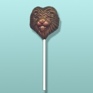 Chocolate Lion Face II Party Favor