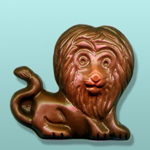 Chocolate Jungle Lion Party Favor