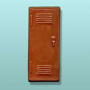 Chocolate School Gym Locker Door Favor