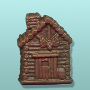 Chocolate Log Cabin Party Favor