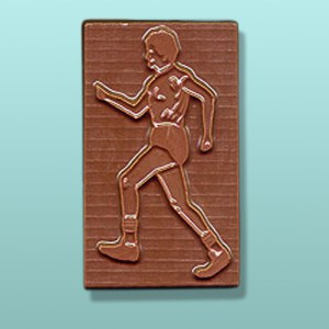 Chocolate Male Jogger Party Favor
