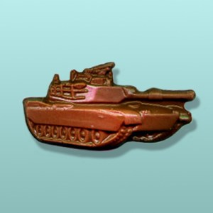 Chocolate Military Tank Favor