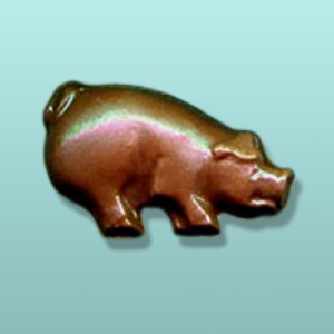 Chocolate Pig Mini Favor