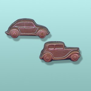 2 pc. Chocolate Classic Car Mini Favor