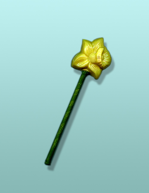 Chocolate Daffodil Mini Party Favor