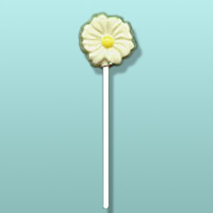Chocolate Daisy Flower Mini Party Favor