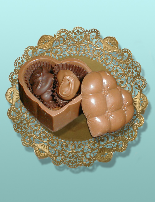 Edible Chocolate Mini Quilt Box