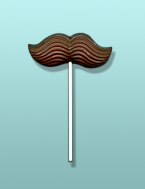 Chocolate Mustache I Lolly