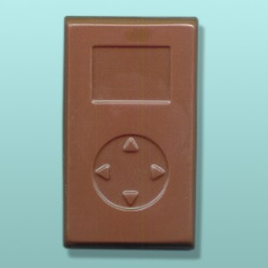 Chocolate Hand Held Music Player