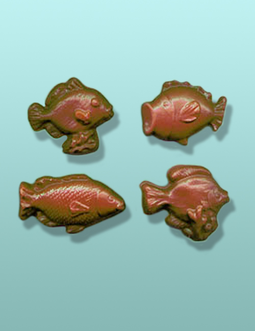 Chocolate Ocean Fish Assorted Favors