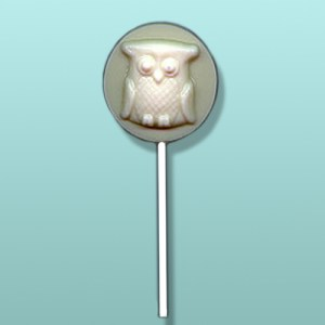 Chocolate Snow White Owl Party Favor