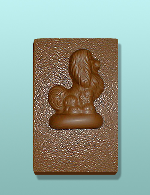 Chocolate Pekingese Dog Flat Plaque