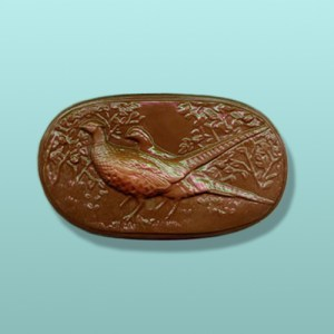 Chocolate Pheasant Plaque
