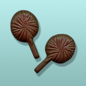 2 pc. Chocolate Pom Pom Favor