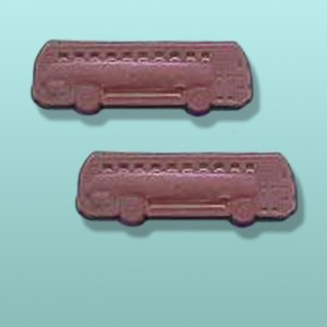 2 pc. Chocolate Bus Mini Favor