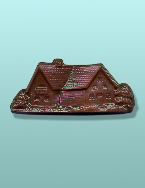 Chocolate Landscaped House