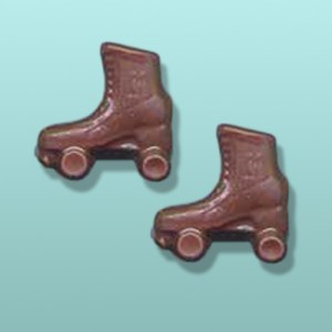 CHOCOLATE ROLLER SKATING FAVORS