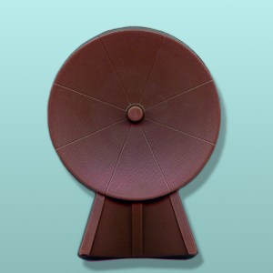 Chocolate Satellite Dish Party Favor