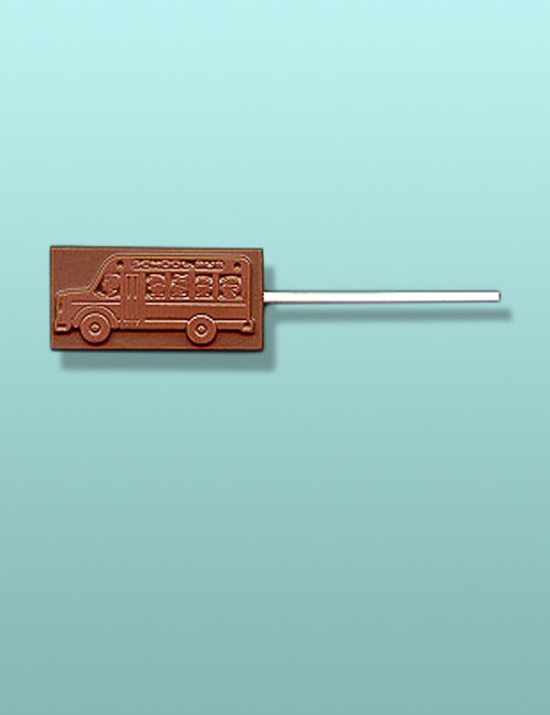 Chocolate School Bus II Lolly