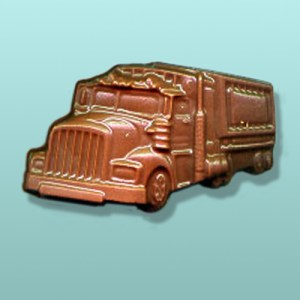 Chocolate Tractor Trailer - Medium